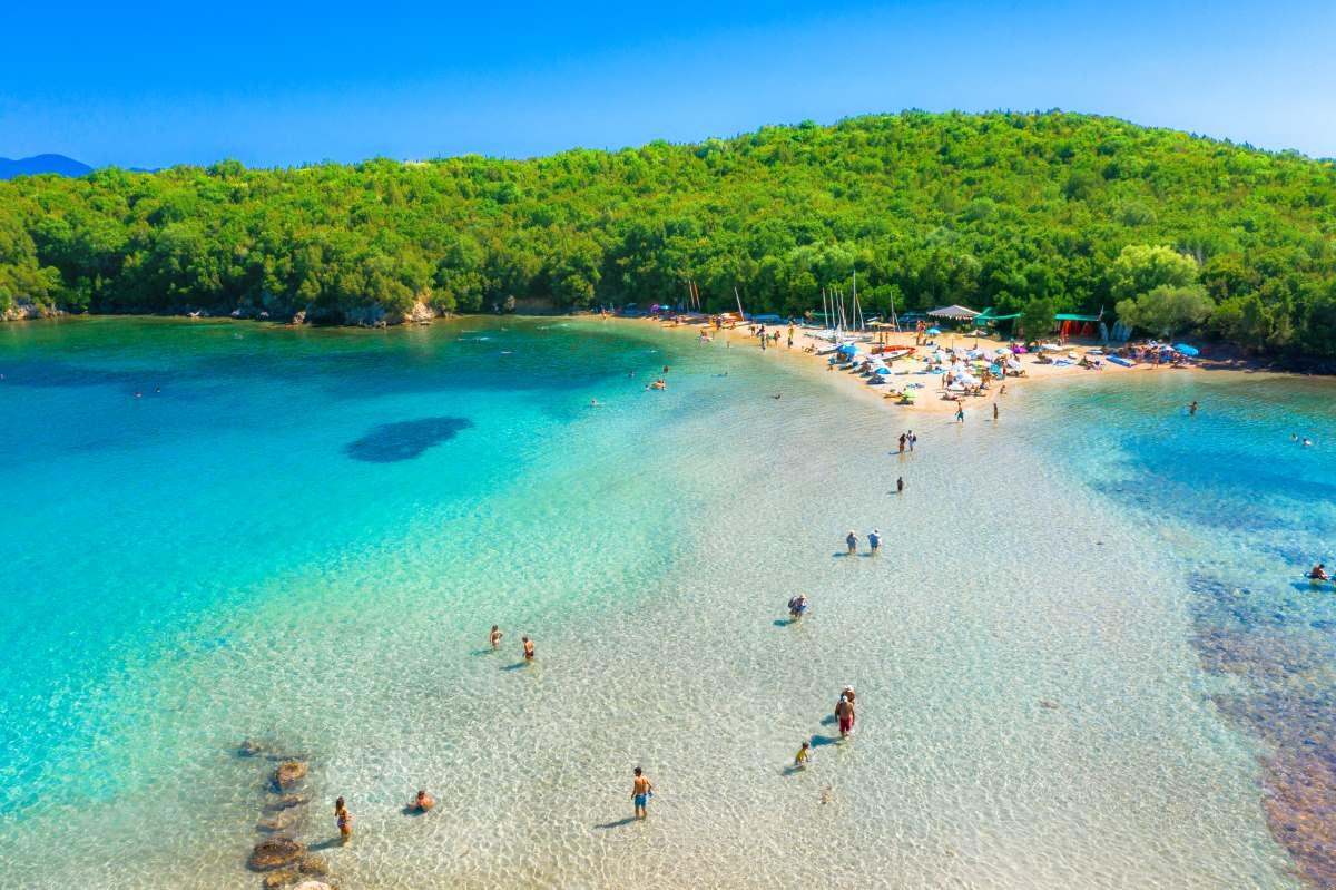 παραλία Σύβοτα