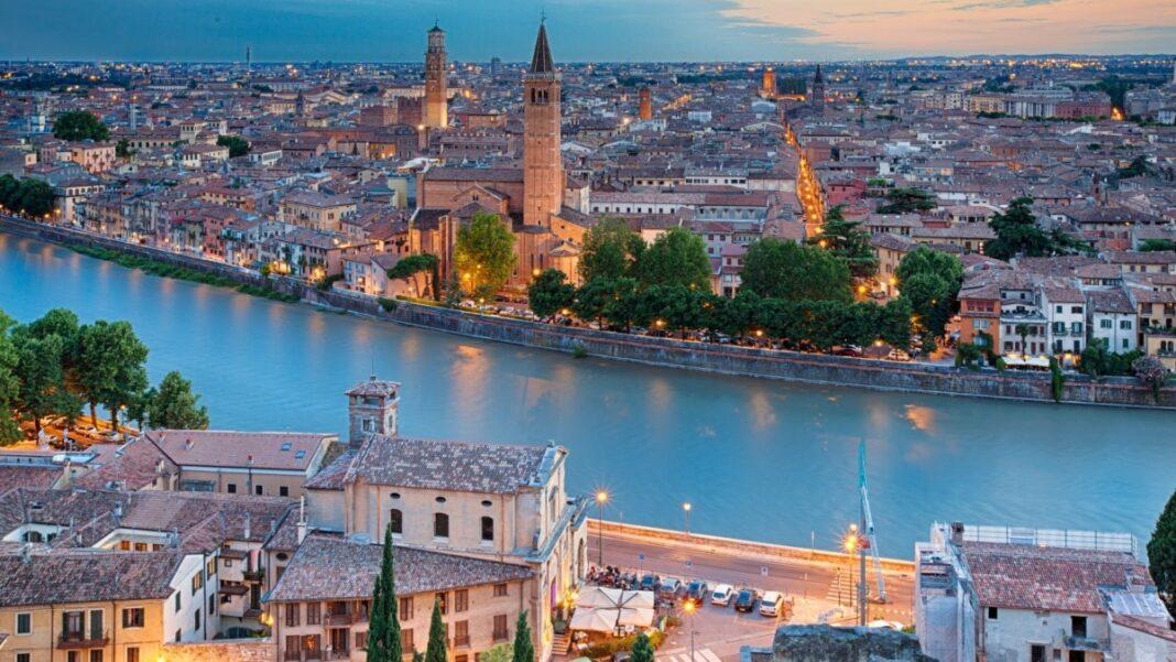 Βερόνα ρομαντική πόλη