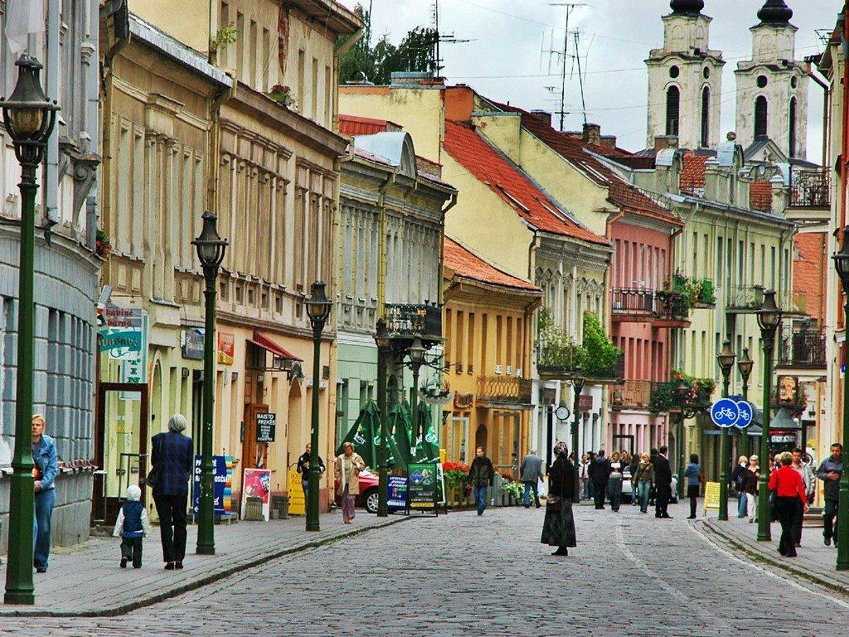 Τα σοκάκια της Παλιάς Πόλης Βίλνιους