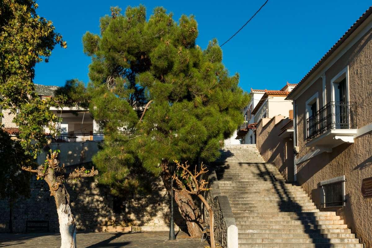 Χρισσό Φωκίδας σκαλιά