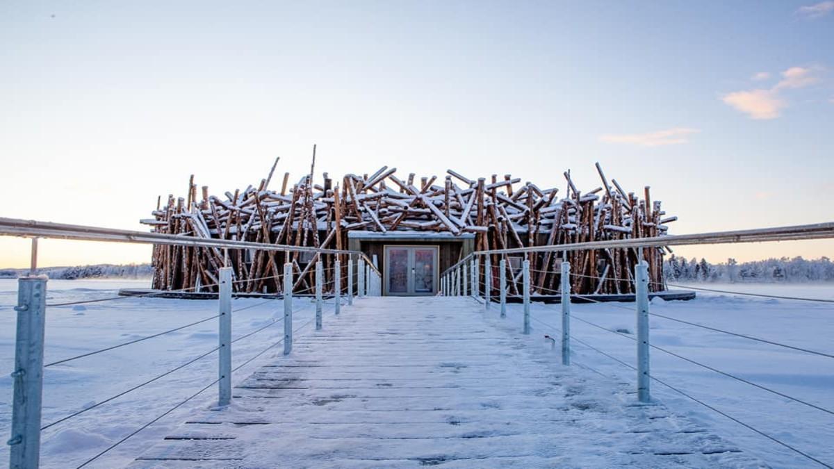 Arctic Bath: To ξενοδοχείο που... επιπλέει!