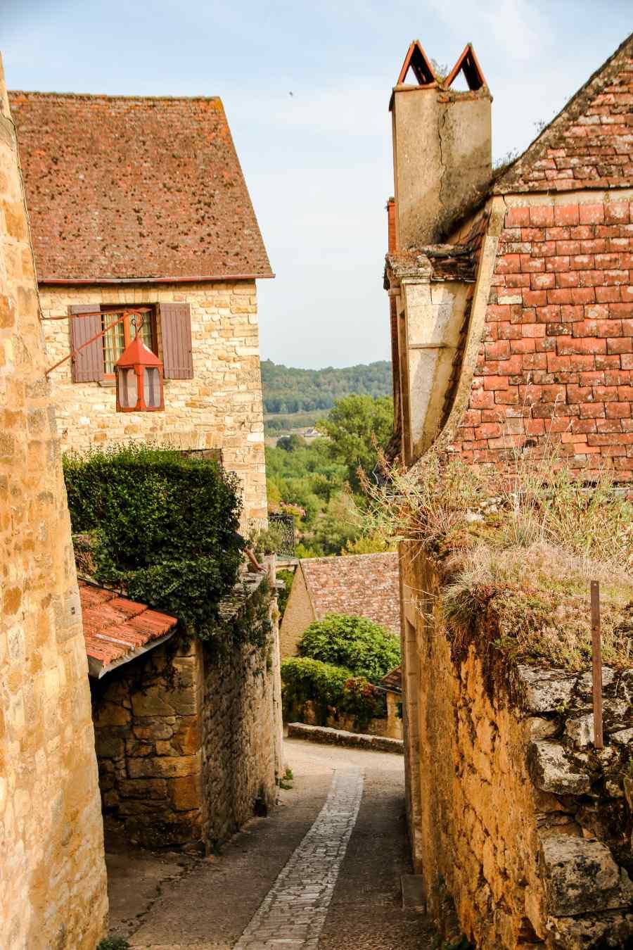 Beynac Γαλλία θέα
