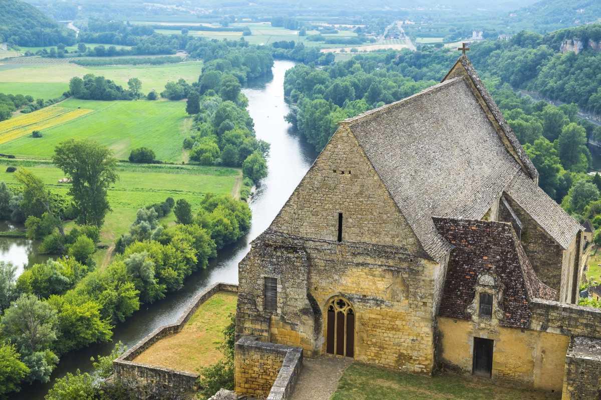 Μεσαιωνικό χωριό Beynac Γαλλία