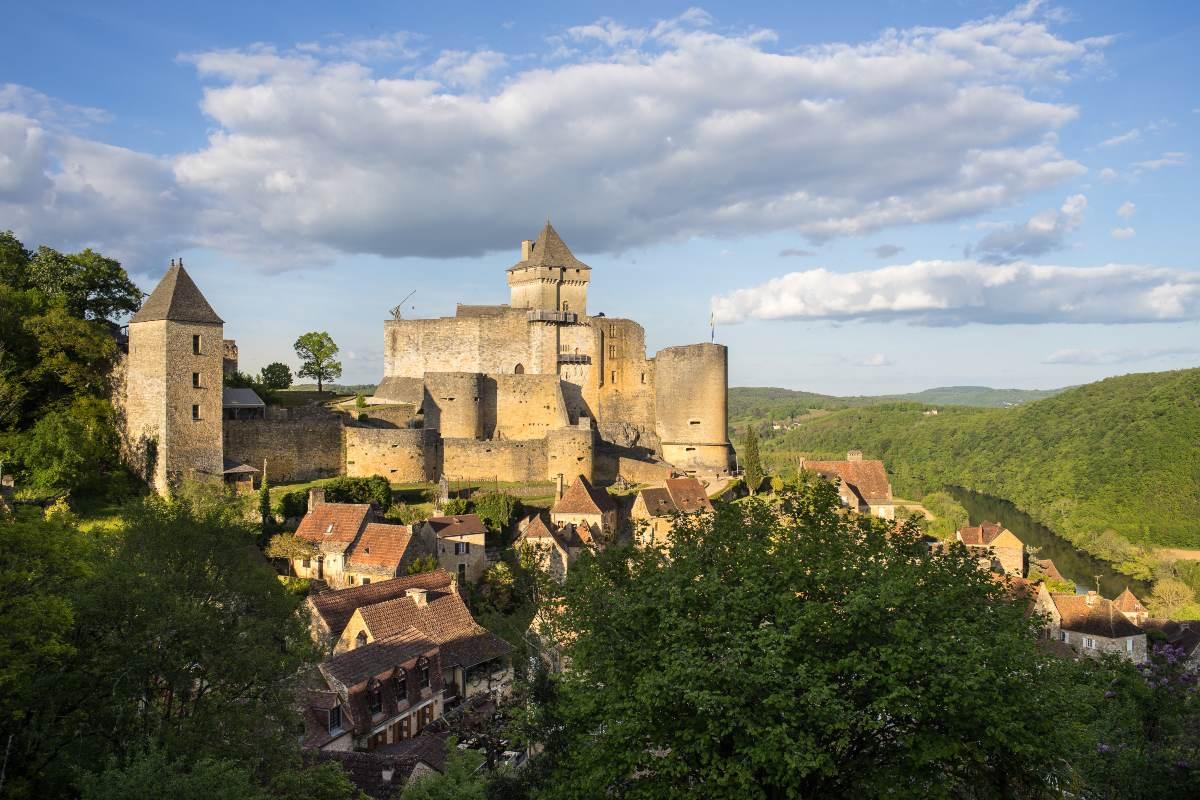 Χωριό Beynac Γαλλία