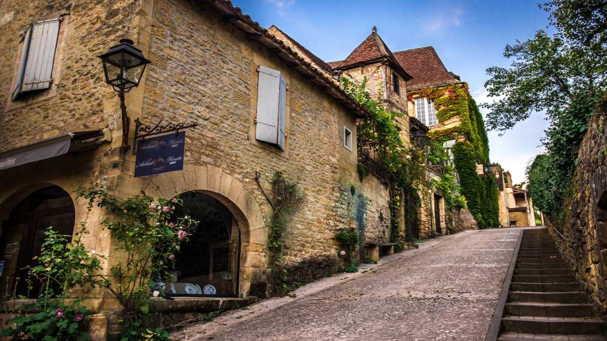 Beynac Γαλλία δρομάκι