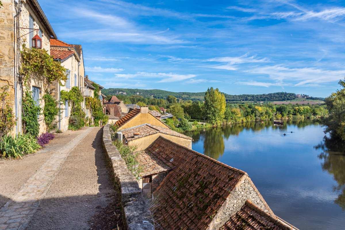 Beynac Γαλλία, βόλτα στο χωριό