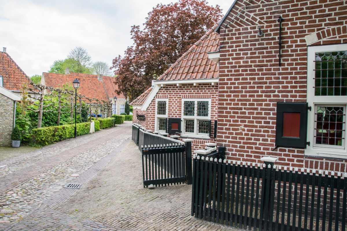 Bourtange χωριό στην Ολλανδία
