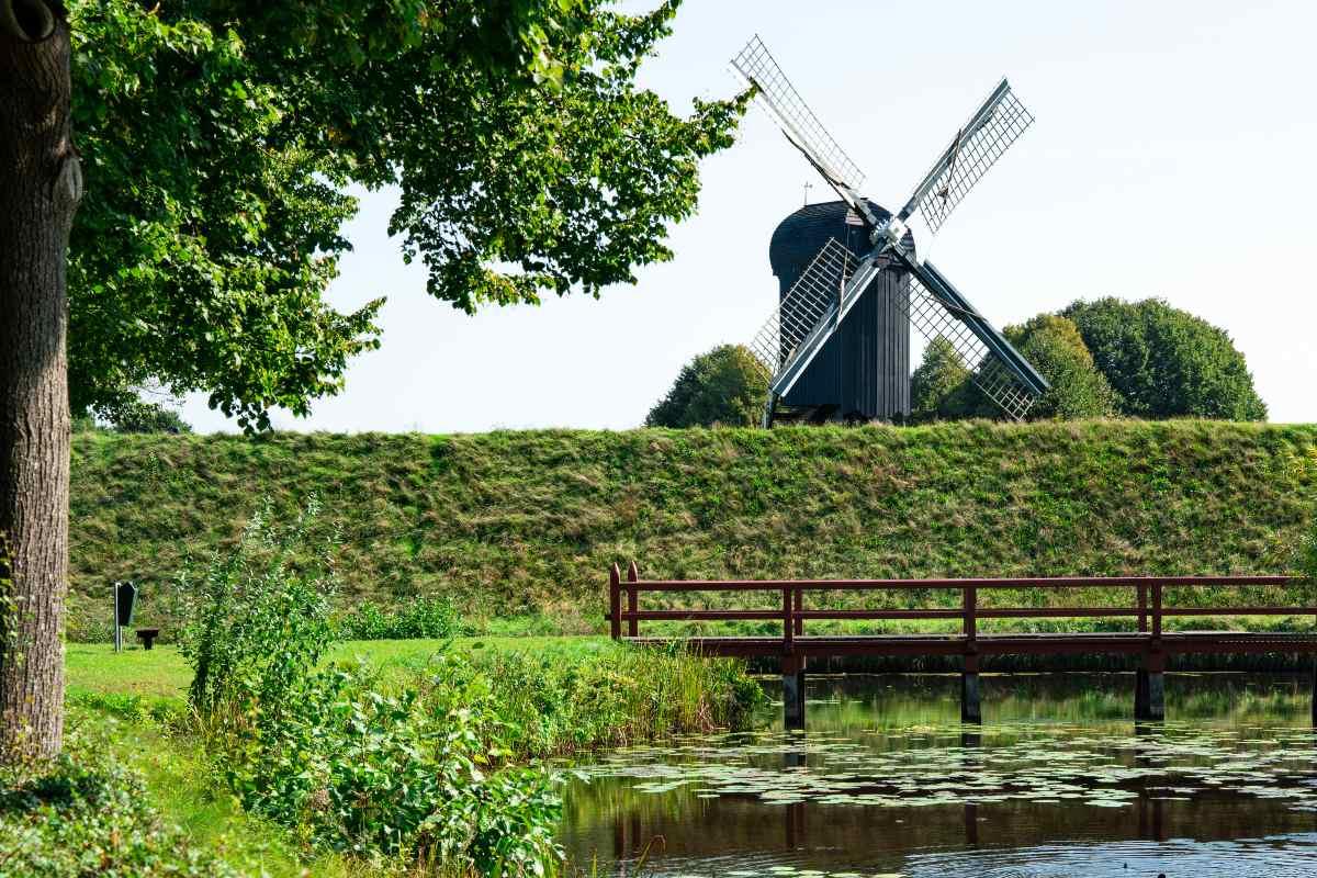 Χωριό Bourtange Ολλανδία