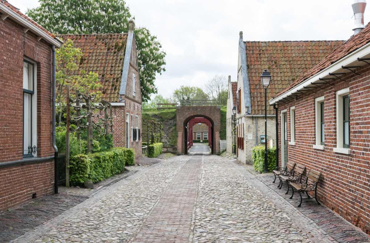 Bourtange Ολλανδία σπίτια