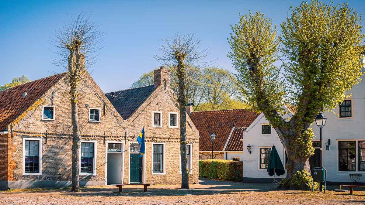 Στο χωριό Bourtange, Ολλανδία