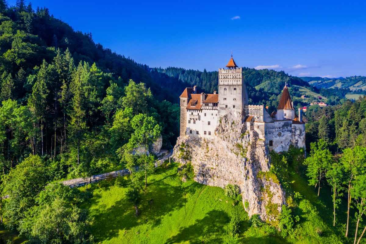 Μπρασόβ, Ρουμανία, Bran castle
