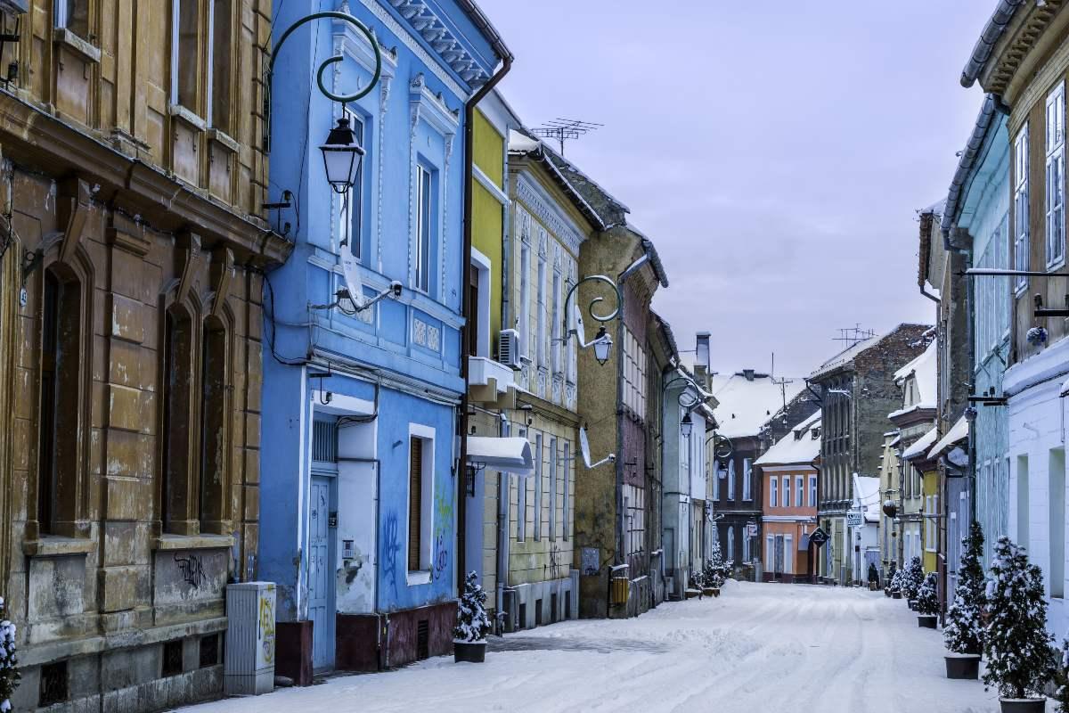 Βόλτα στην Παλιά Πόλη, Μπρασόβ