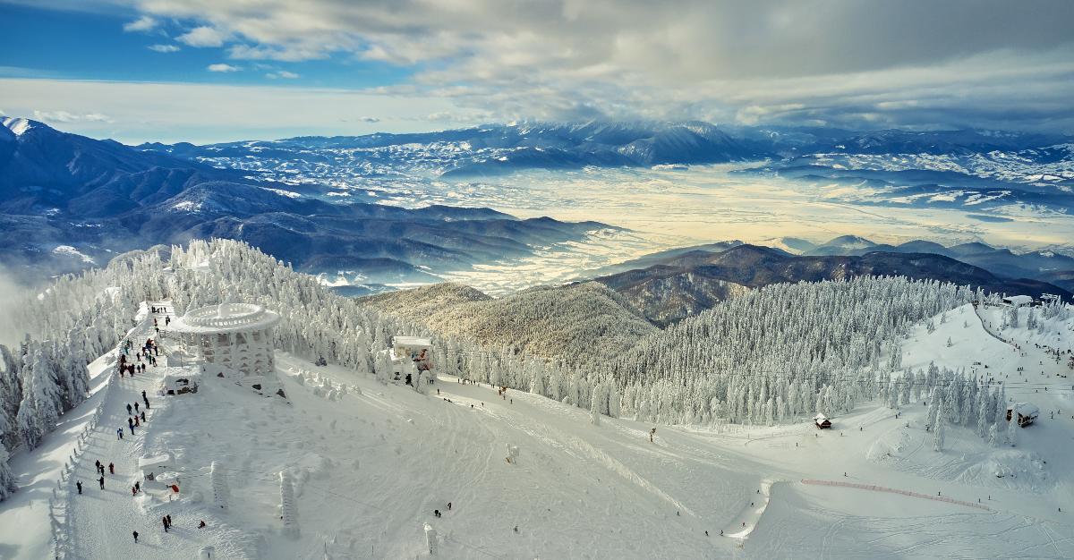 Μπρασόβ, Ρουμανία- Χιονοδρομικό κέντρο