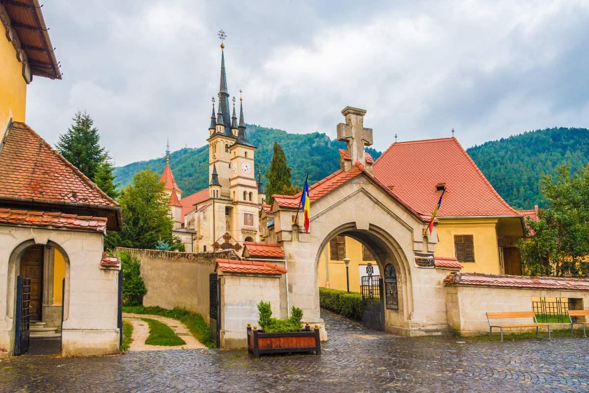 Μπρασόβ, Ρουμανία- ελληνορθόδοξη εκκλησία