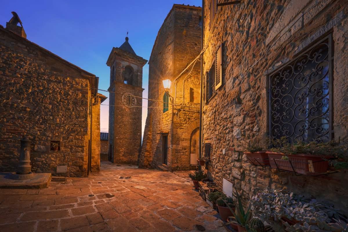 Καζάλε Μαρίτιμο μεσαιωνικό χωριό
