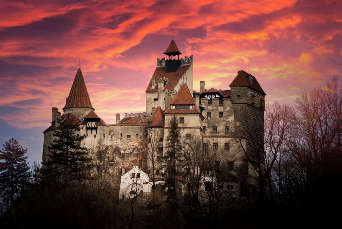 Μπρασόβ, Ρουμανία- Κάστρο του Δράκουλα