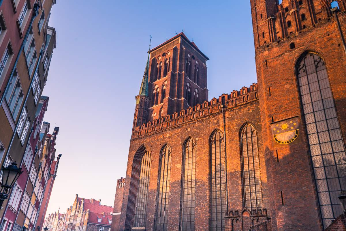 Gdańsk, ο ναός της Παναγίας
