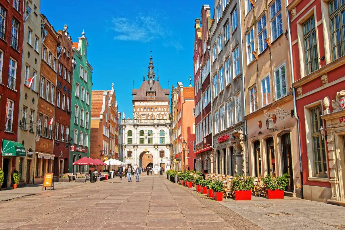 Gdańsk, Η Χρυσή Πύλη