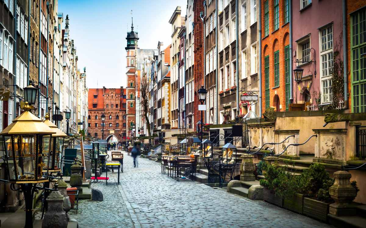 Gdańsk, κέντρο