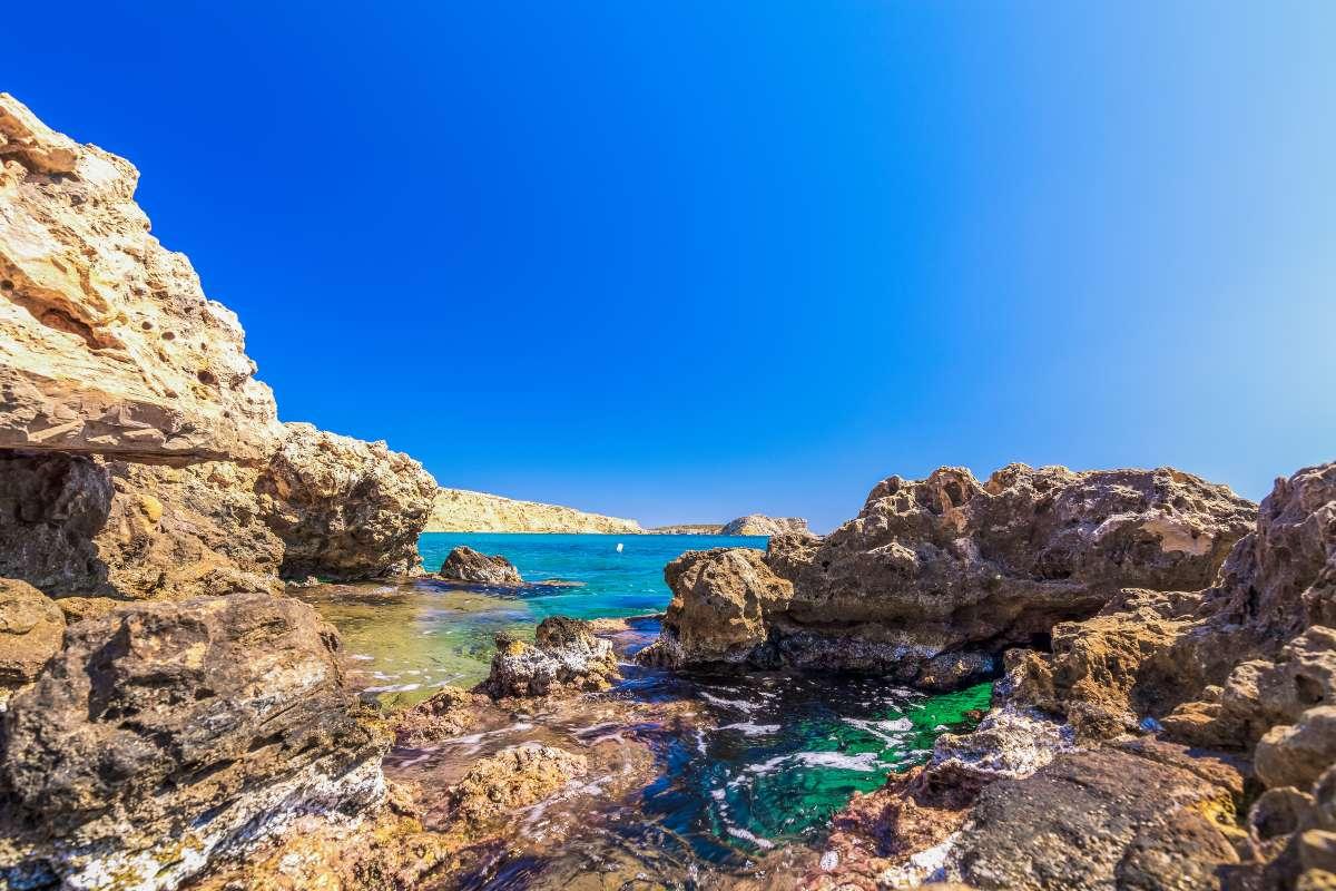 Λειψοί -παραλία Χοχλακούρα
