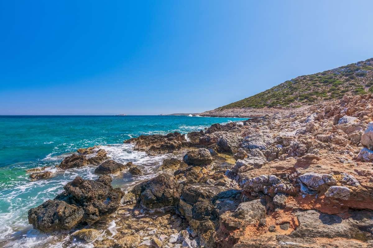 Λειψοί -παραλία Πλατύς Γιαλός