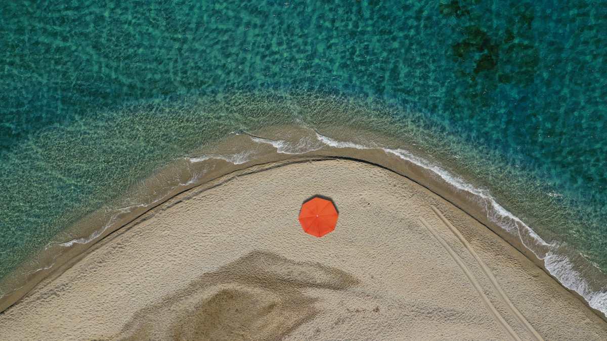 Μεγάλη Άμμος, Μαρμάρι Εύβοια
