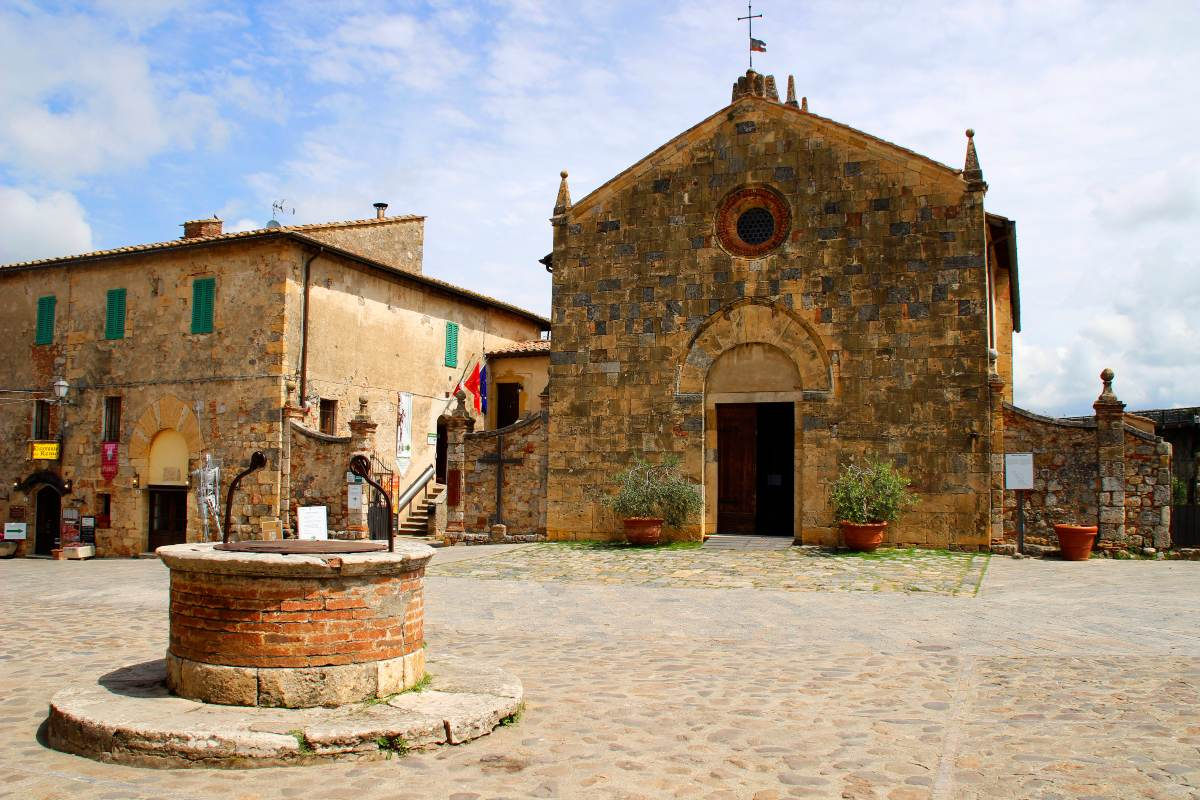 Monteriggioni, Τοσκάνη
