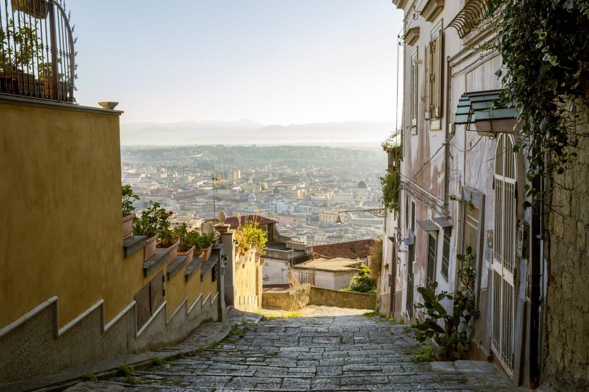 Νάπολη, δρόμος