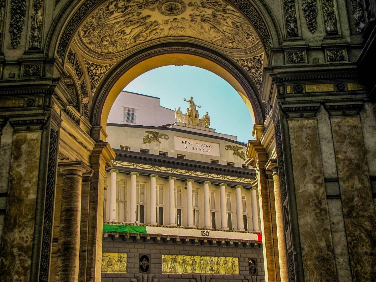 Νάπολη, θέατρο San Carlo