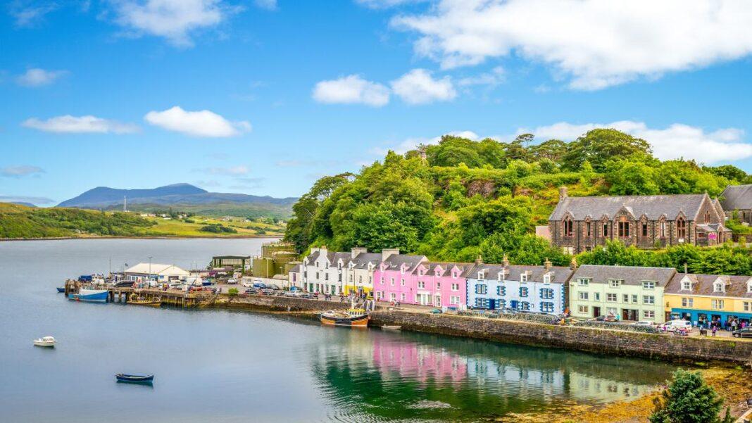 Οι ομορφότερες μικρές πόλεις ης Ευρώπης -Portree Σκωτία