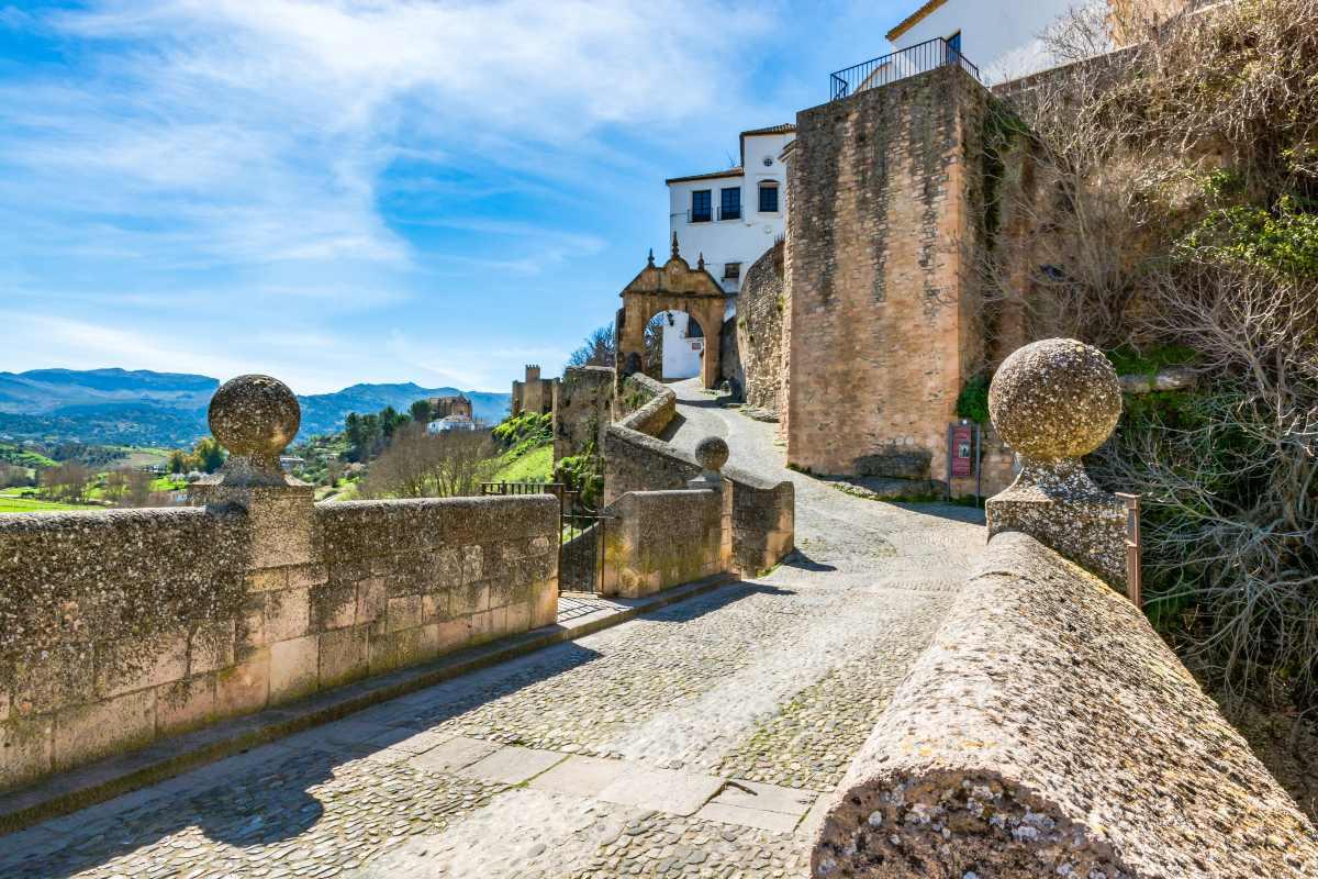 Στο δρόμο για το κάστρο