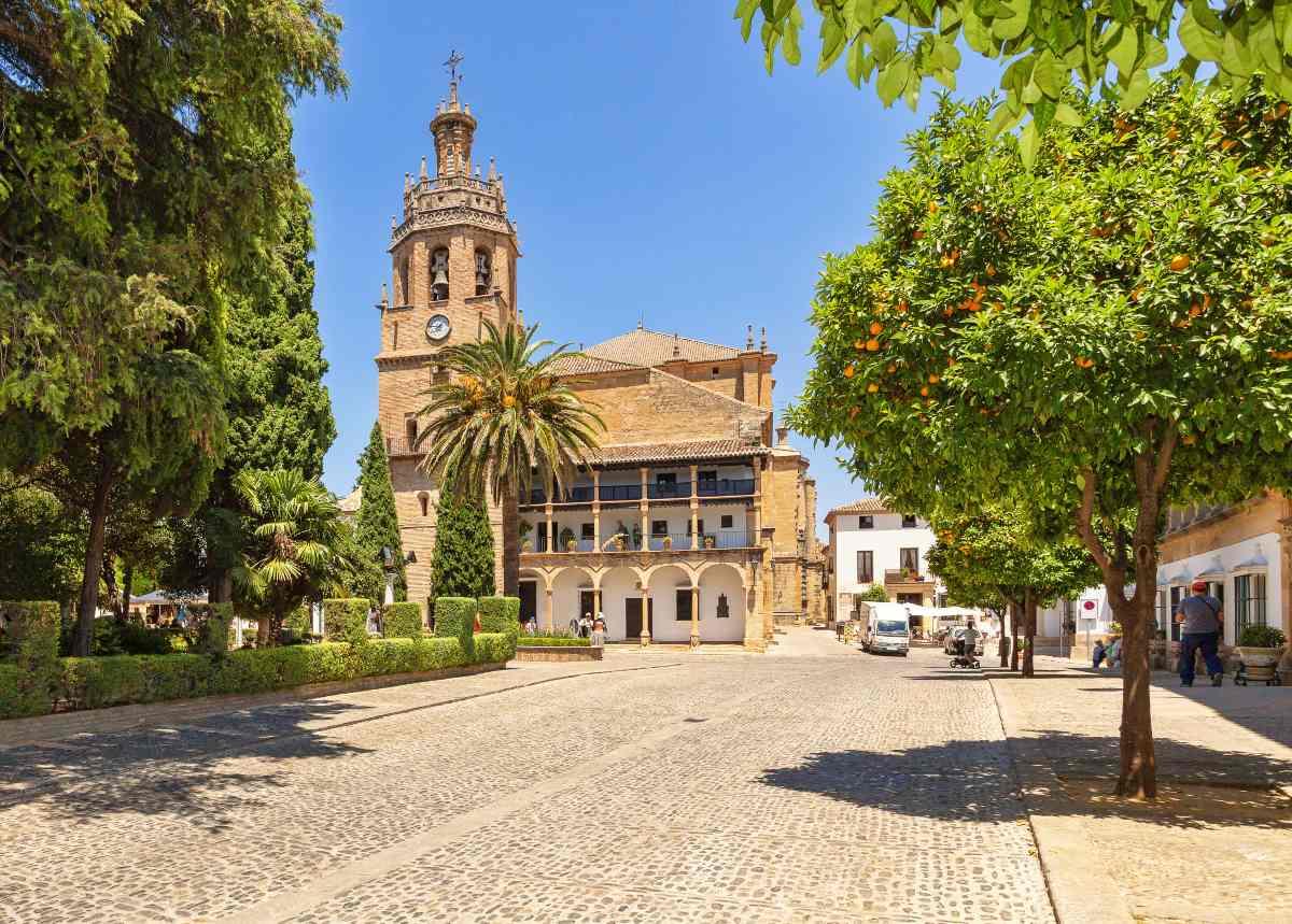Ρόντα Ισπανία, πλατεία