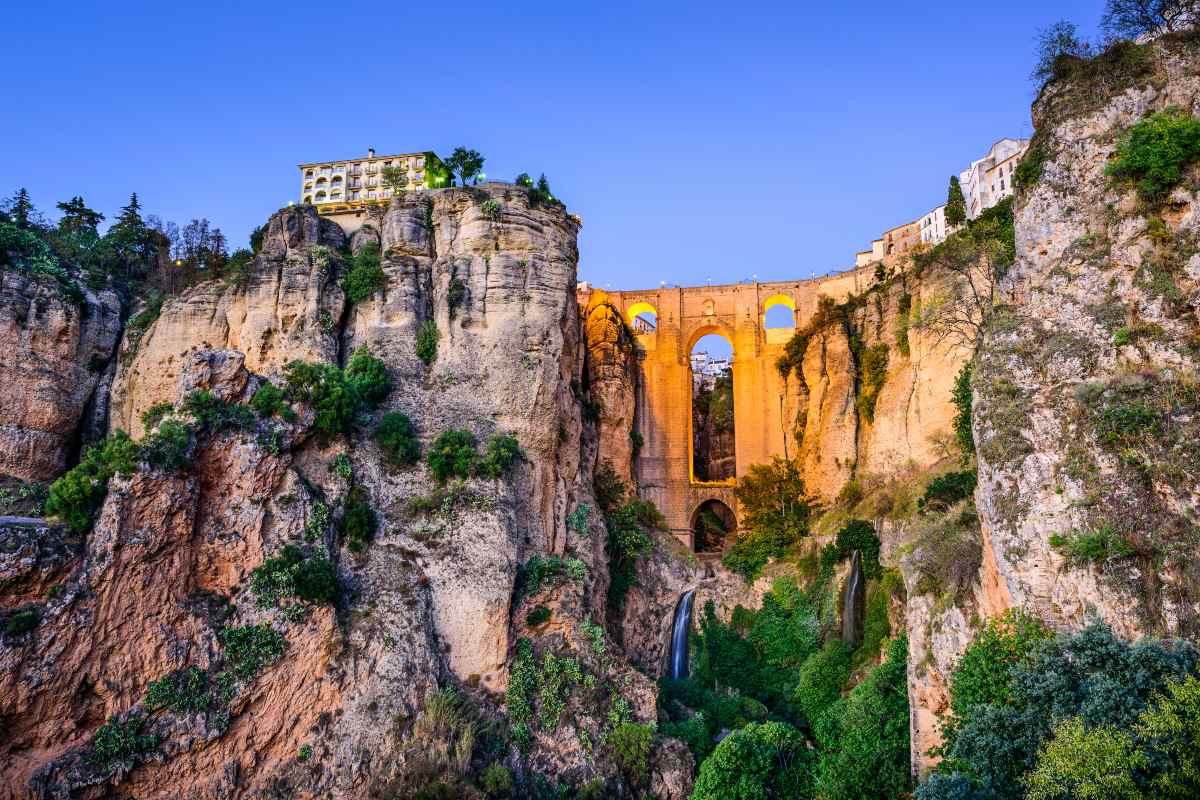 Το κάστρο στη Ρόντα Ισπανία