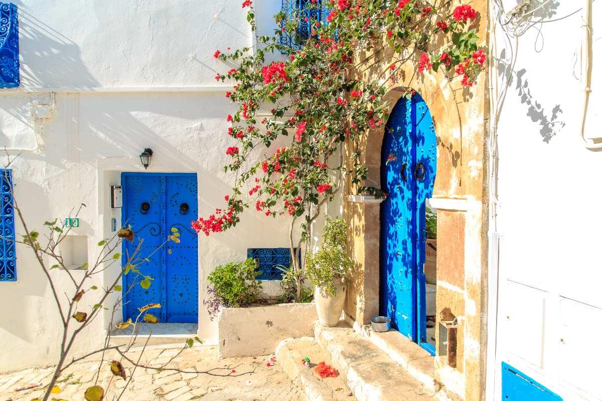Χωριό Σίντι Μπου Σαΐντ στηνΤυνησία