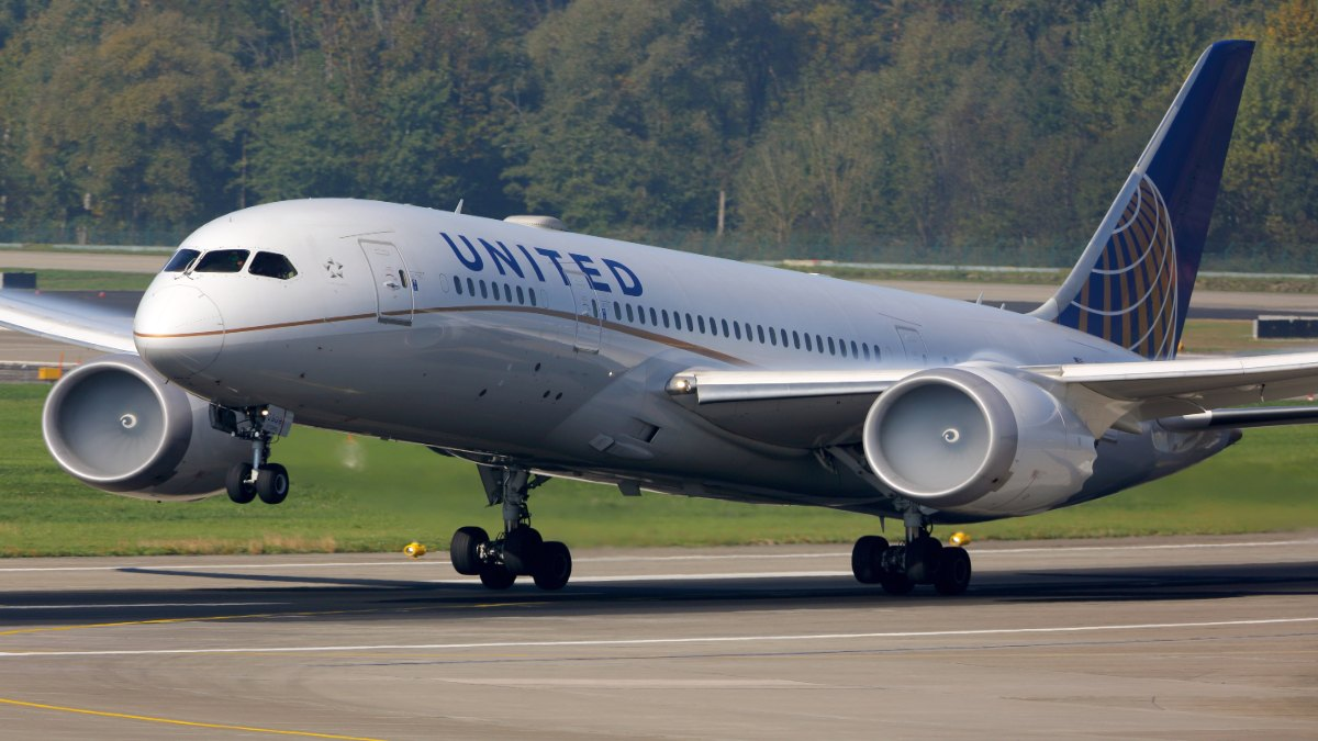 Boeing 787-8 Dreamliner / United
