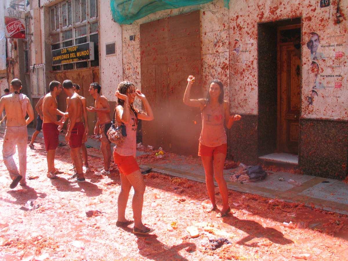 Βαλένθια, φεστιβάλ La Tomatina
