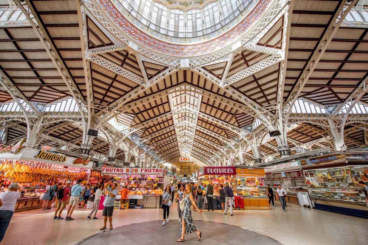 Στο εσωτερικό της κεντρικής αγοράς, Βαλένθια