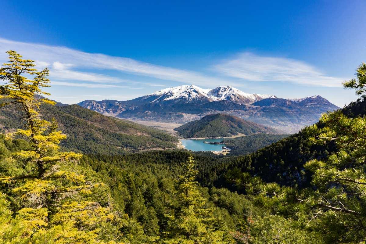Ζήρεια Πελοπόννησος & λίμνη Δόξα