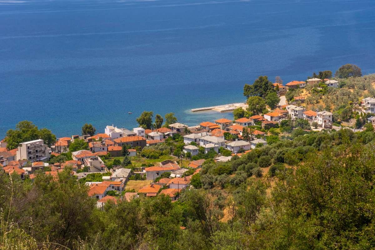 Άφησσος, χωριό Πηλίου