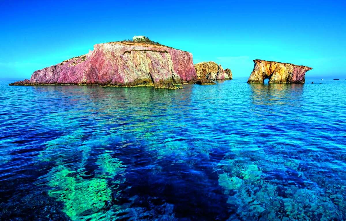 Νησάκια γύρω από την Αντίπαρο