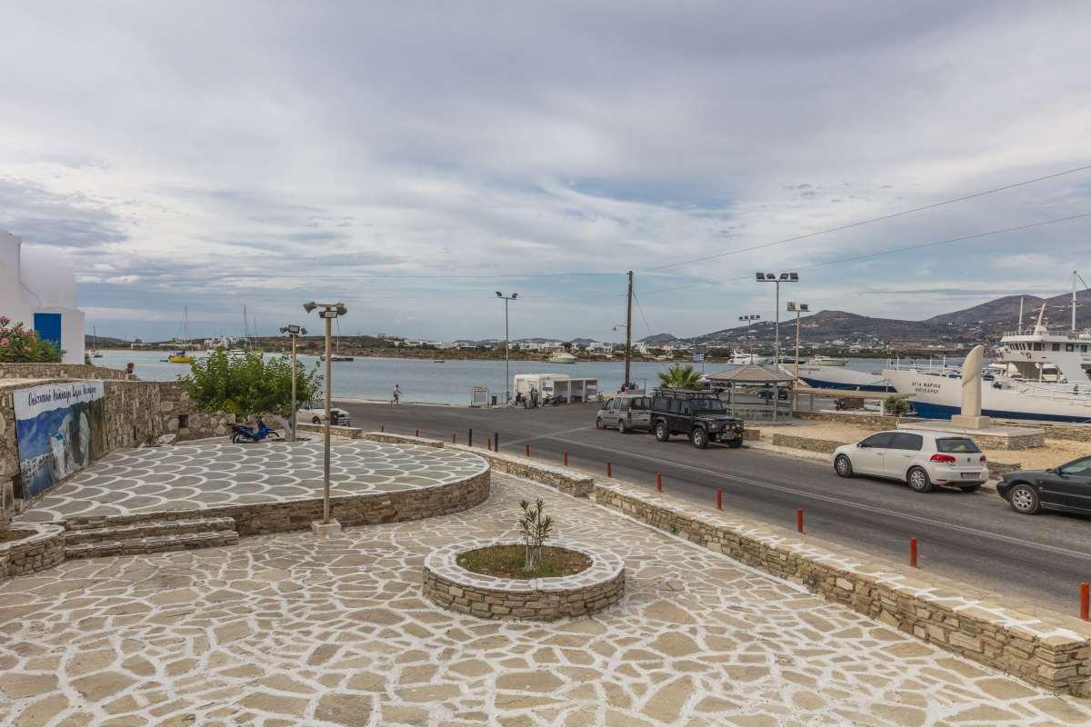 Αντίπαρος- λιμάνι