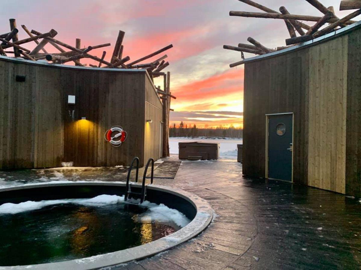 Arctic Bath Hotel Σουηδία- σπα πισίνα