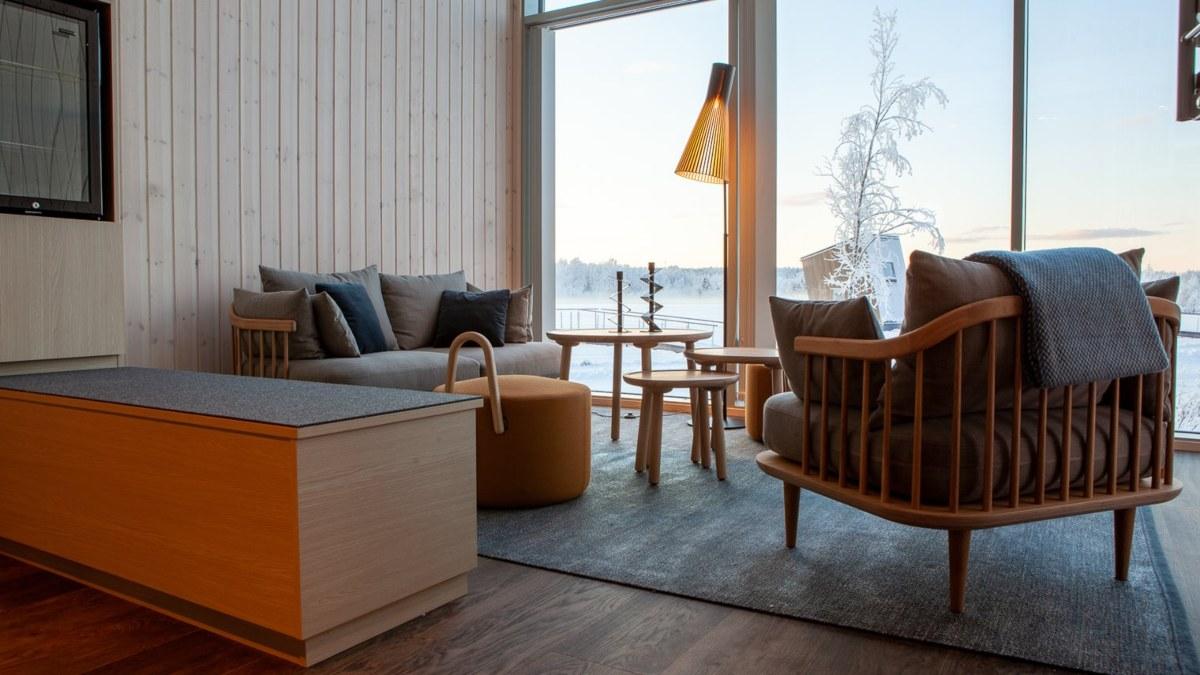 Arctic Bath Hotel Σουηδία- σουίτα