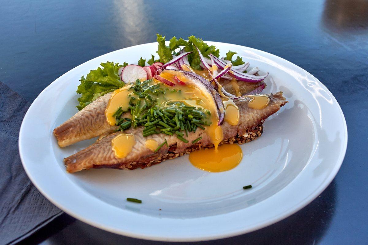Bornholm Δανία - φαγητό