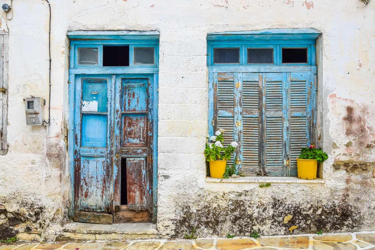 Χαλκί Νάξος, παλιά κτίσματα
