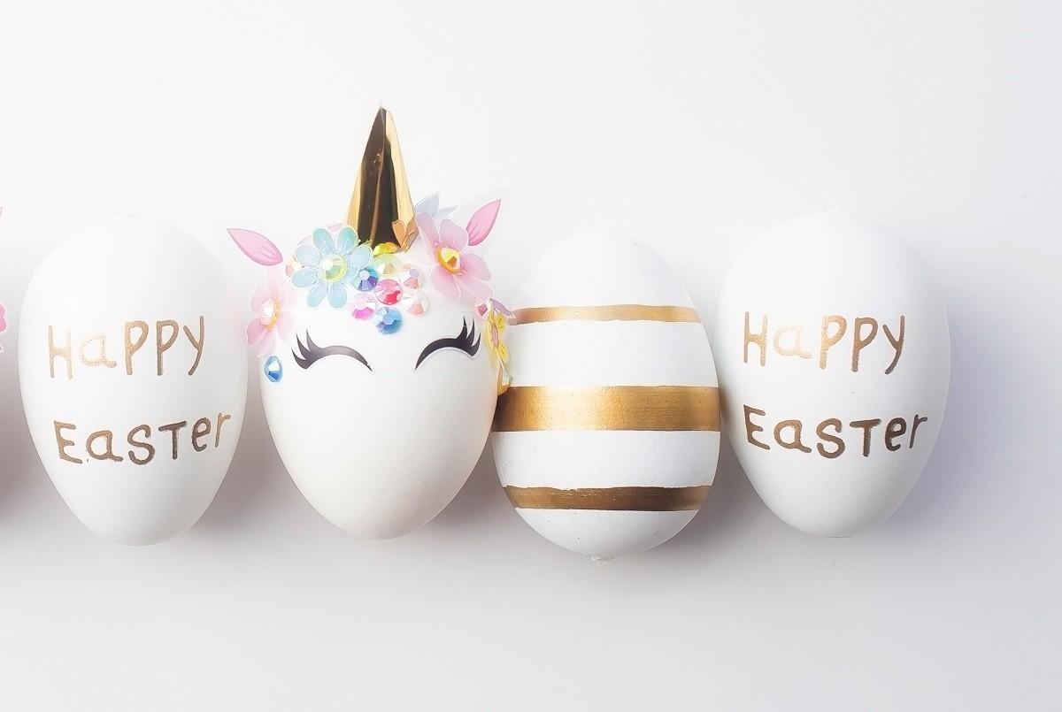 Πασχαλινά αυγά-Διακόσμηση με μηνύματα