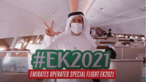 Emirates: Η ειδικά σχεδιασμένη «εορταστική» πτήση