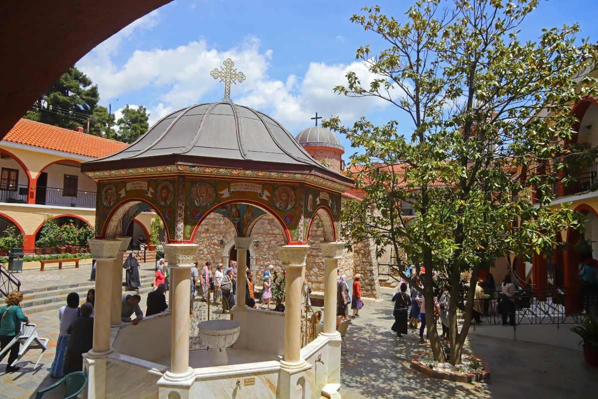 Μοναστήρι Όσιου Δαϋιδ Εύβοια