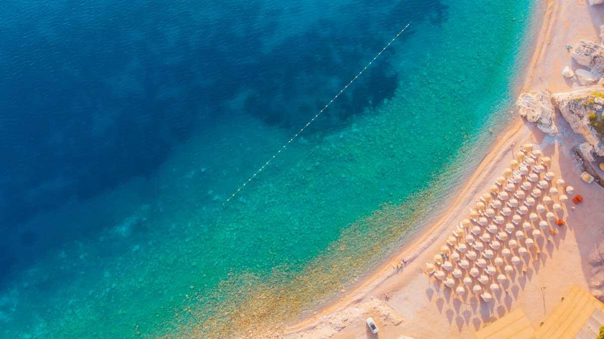 Παραλία στην Αδριατική, Μαυροβούνιο