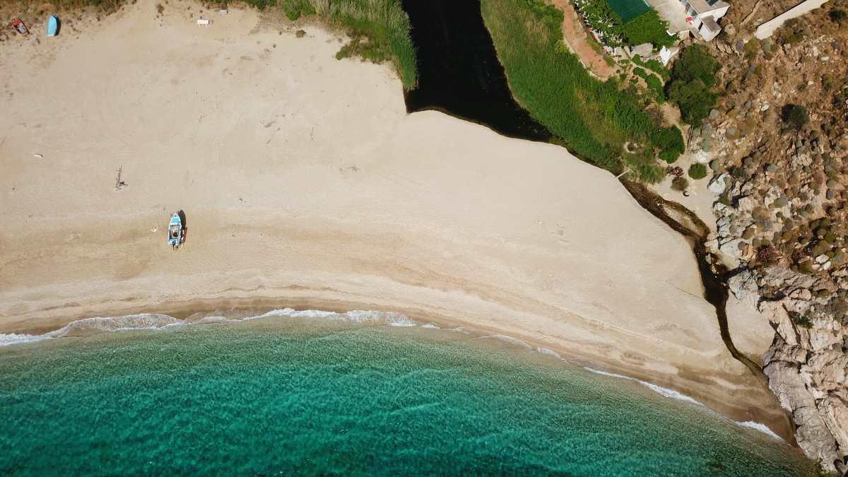Παραλία Ποτάμι, Νότια Εύβοια
